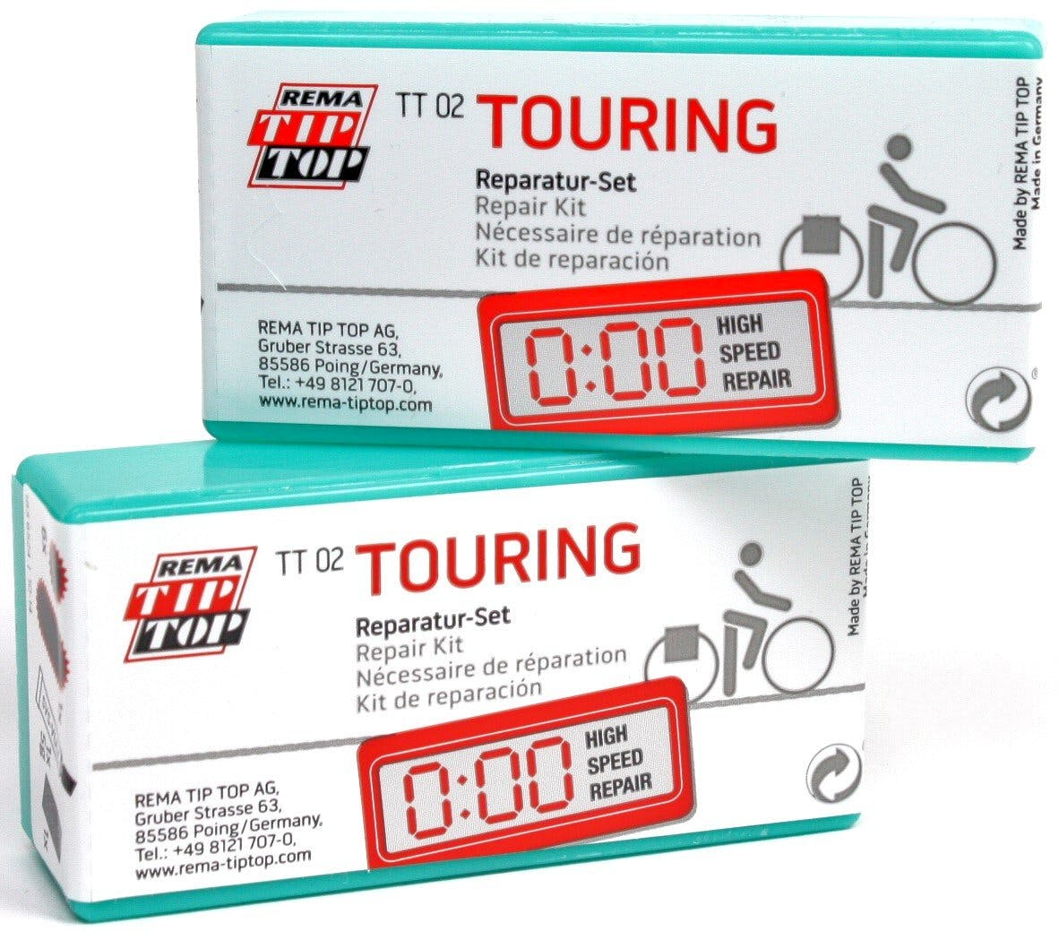 rema tip top tt02 touring bicycle tube repair patch kits 22. Black Bedroom Furniture Sets. Home Design Ideas